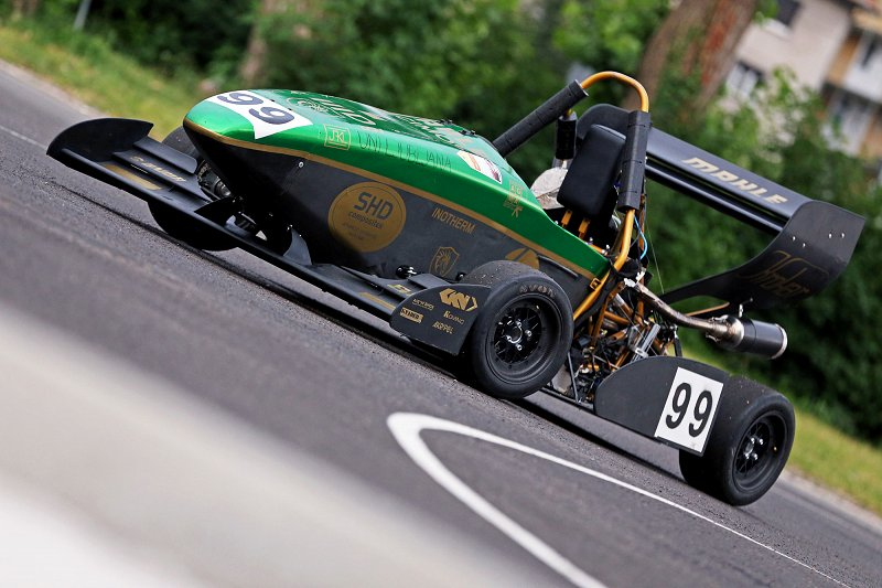 Formula, designed by students of the Faculty of Mechanical Engineering  Photo: Faculty of Mechanical Engineering archive