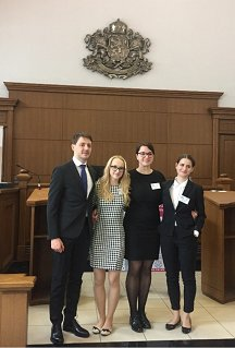 The team from the Faculty of Law of the University of Ljubljana achieved outstanding results at the international moot court competition in European Union law – CEEMC.