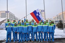 All of our athletes performed very well for an excellent representation of the colours of Slovenia.