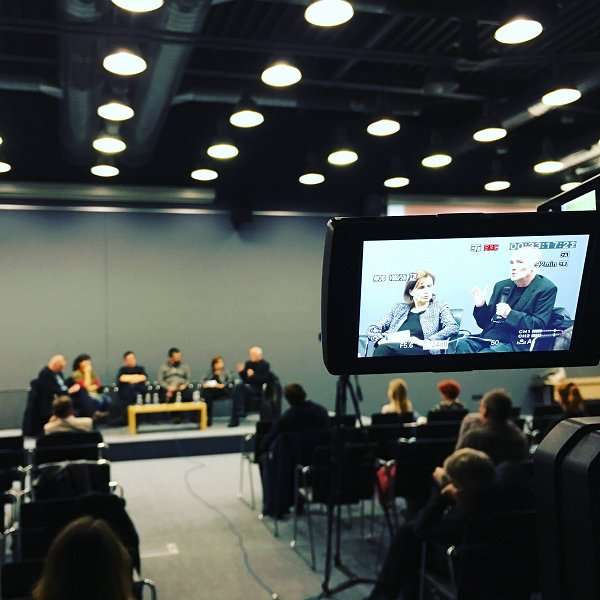 In January 2018, the Faculty of Social Sciences organised a widely noticed event on fake news and disinformation in current society. Photo: Primož Hrvacki