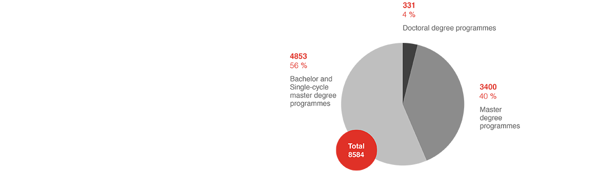 Number of graduates in 2017