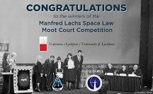 The winning team from UL Law Faculty  Photo: UL PF