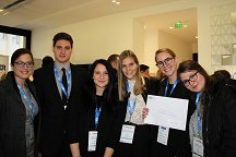 The students of the Faculty of Law of the University of Ljubljana excelled again and achieved a very good position at the International Chamber of Commerce competition in Paris.