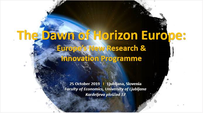 The Dawn of Horizon Europe